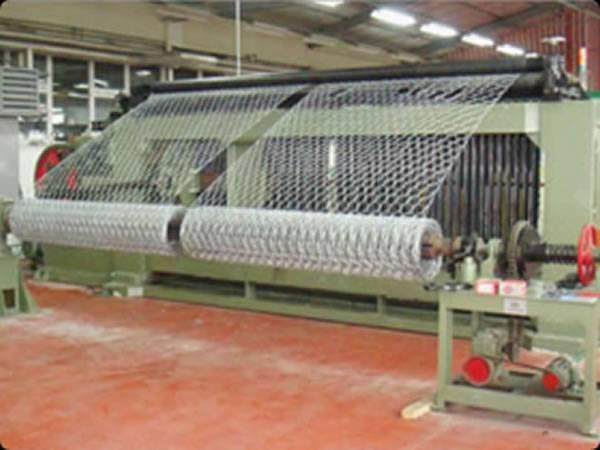 Chicken wire is manufactured in chicken wire workshop
