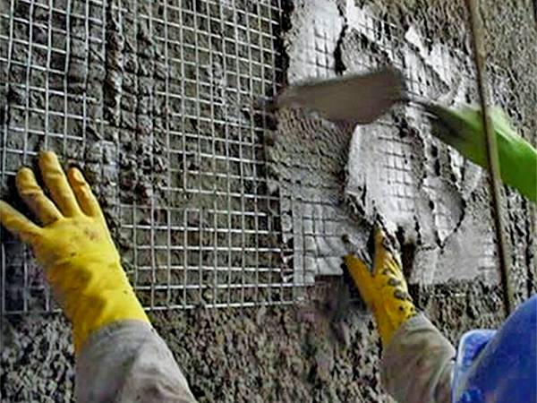 Anti Cracks For Concrete Hollow Masonry With Plaster Steel